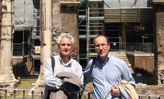 José Carcione e Pasqualino Bongiovanni - Portico d'Ottavia - Roma - 2011