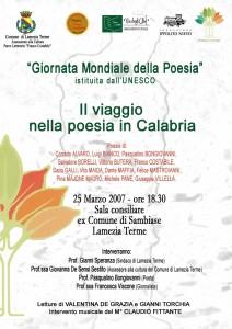 Unesco - Giornata mondiale della Poesia