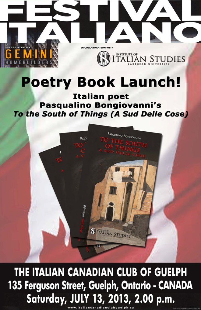 "Presentazione ""to the south of things"" – ""festival italiano"