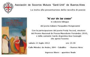 Pasqualino Bongiovanni - Associazione Sardi Uniti-ITA