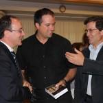 Pasqualino Bongiovanni con Vince Mirabelli e Frank Pullia