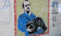 Murale a San Telmo - Buenos Aires – 2012 (Astor Piazzolla)