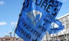 Aspettando la marcia delle Madri di Plaza de Mayo – Buenos Aires - 2012