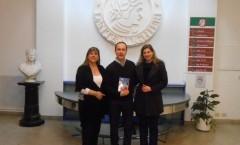 Presentazione di Al sur de las cosas – Associazione Dante Alighieri (sede Tucuman) – Buenos Aires - 2012