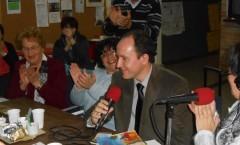 In diretta dalla sede dell'Associazione Ital Club di Ramos Mejía nella trasmissione Avanti Morocha condotta da Gabriela Calafati su Radio Amplitud AM660 – Buenos Aires - 2012