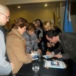 Presentazione di Al sur de las cosas – Associazione Ital Club di Ramos Mejía – Buenos Aires - 2012