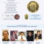 Premio Professionisti di Calabria nel Mondo – Castello G. Murat – Pizzo - 2012
