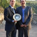 Premio Professionisti di Calabria nel Mondo – Castello G. Murat – Pizzo – 2012 (Pasqualino Bongiovanni e Filippo Maria Aliquò)