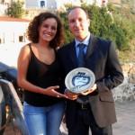 Premio Professionisti di Calabria nel Mondo – Castello G. Murat – Pizzo – 2012 (Mariacristina Mazzei e Pasqualino Bongiovanni)