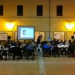 Il pubblico nella splendida cornice del Chiostro di San Domenico - Lamezia Terme