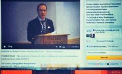 Pasqualino Bongiovanni in diretta streaming dal Canada