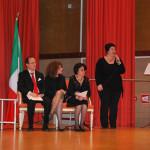 Intervento di Beatrice Marzano (da sx: Pasqualino Bongiovanni, Marie Marazita, Aldina Mastroianni, Beatrice Marzano)