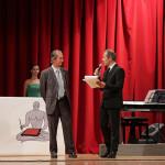 Roberto Mestrone (Presidente della Giuria) e Giuseppe Vultaggio