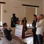 Momenti di dibattito (da sx: Fortunato Amarelli, Pasqualino Bongiovanni, Oscar Gastaldi)
