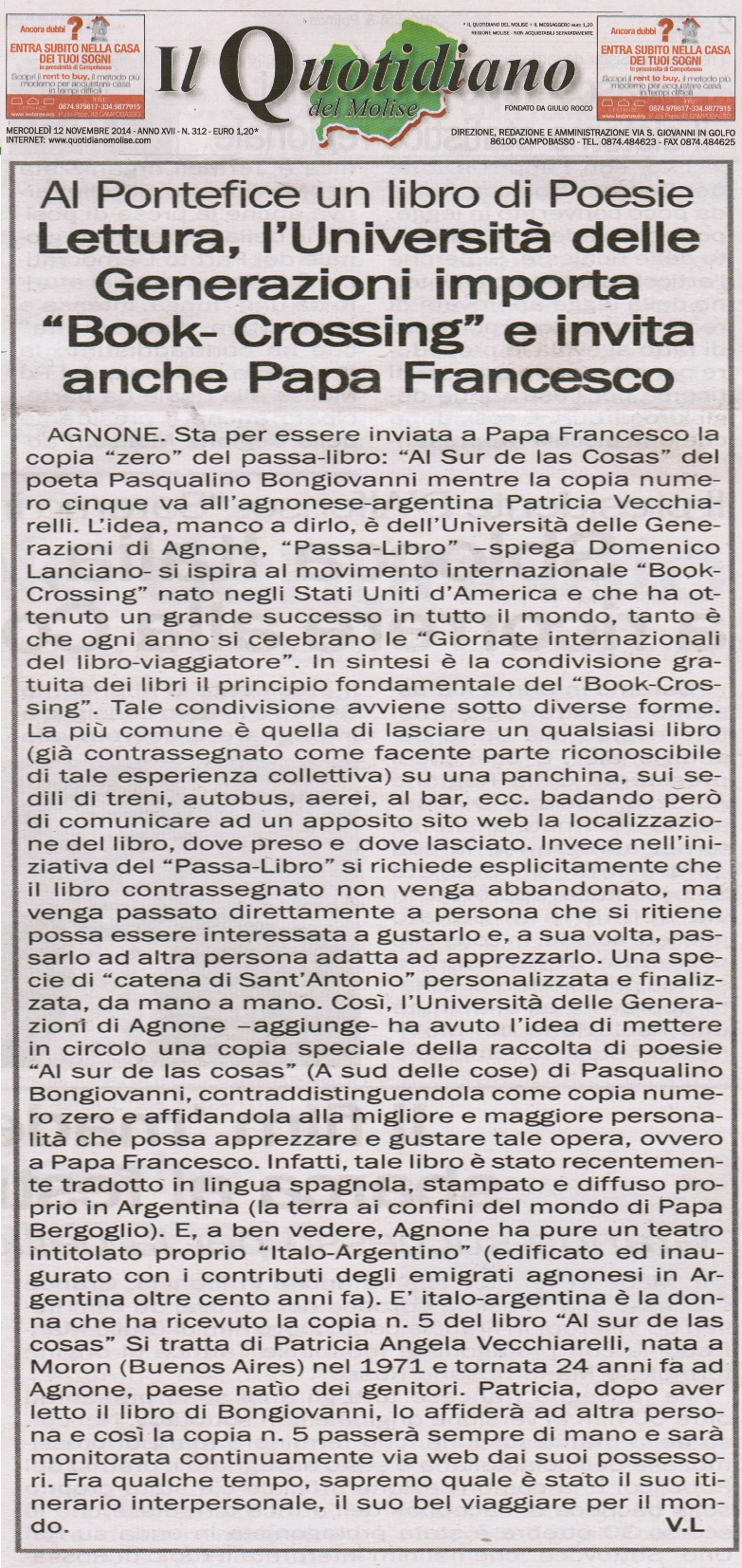 IL QUOTIDIANO DEL MOLISE