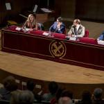Inaugurazione del Congresso: da sx: Mirella Marotta, Luis Cavalieri, Eugenio Luján, Gianfranco Chicca